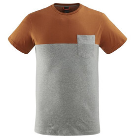 Lafuma Escaper Tee Men, leather brown